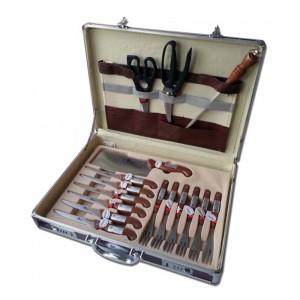 Quel cadeau offrir pour les f tes trois id es atypiques - Malette de couteaux pradel excellence 25 pieces ...