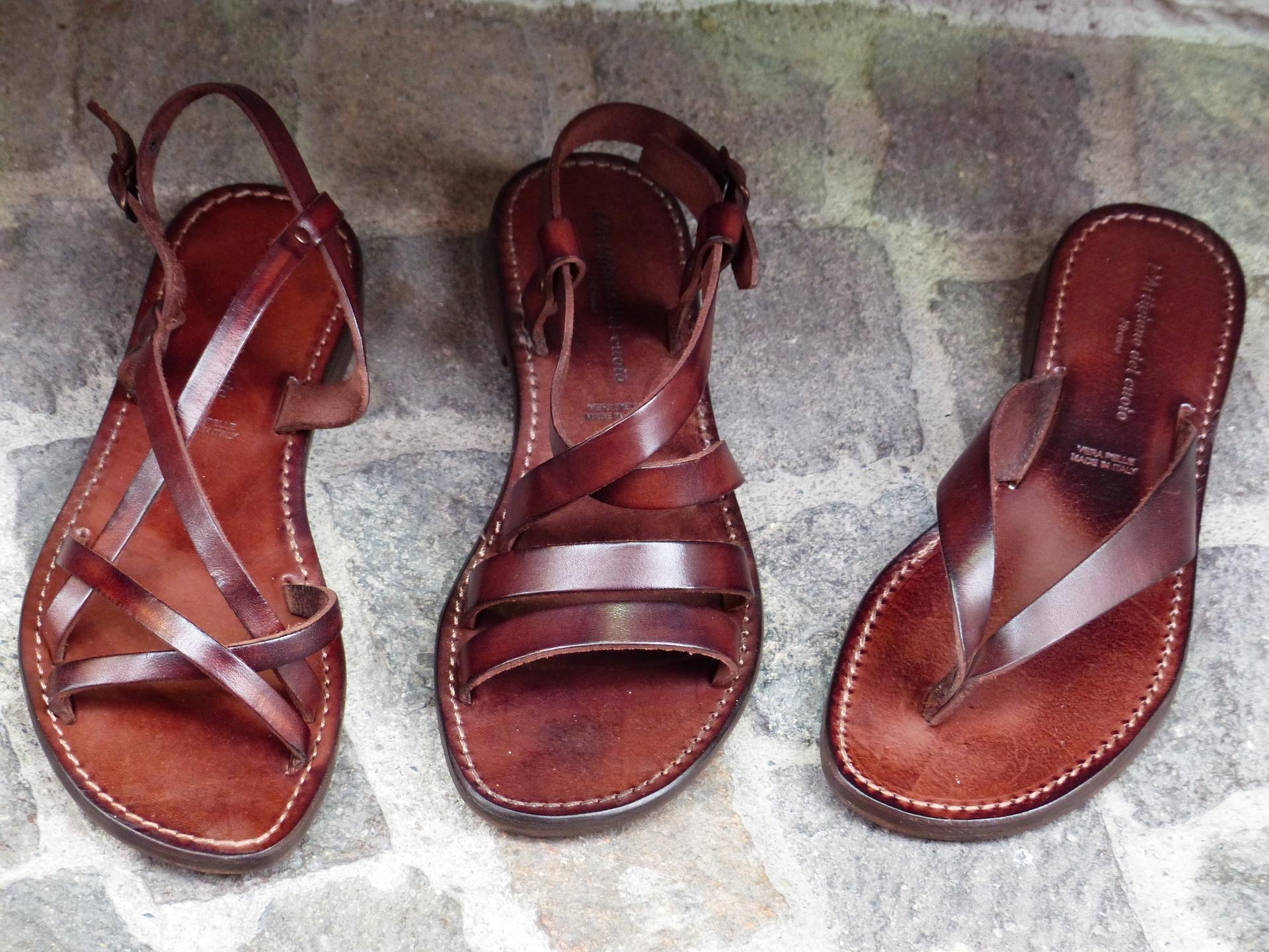 sandales à choisir pour printemps