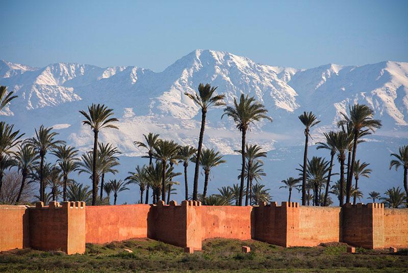 6. Marrakech - l'une des meilleures destinations de voyage en automne