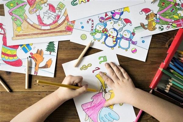 Le coloriage un bon outil pour occuper les enfants