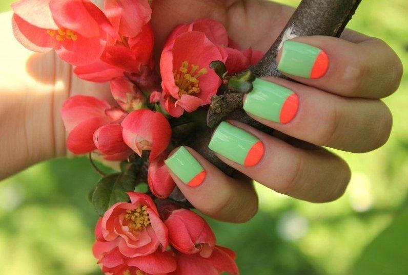 vernis ongle printemps