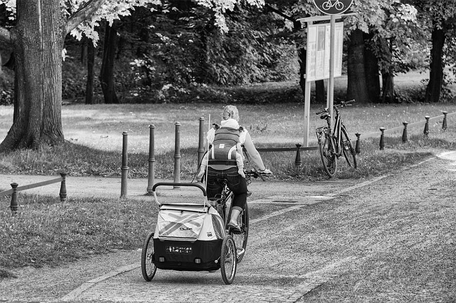 Vélo-électrique-Remorque